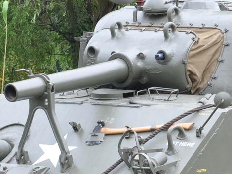 105mm gun mount