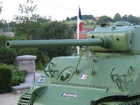 76mm gun mount
