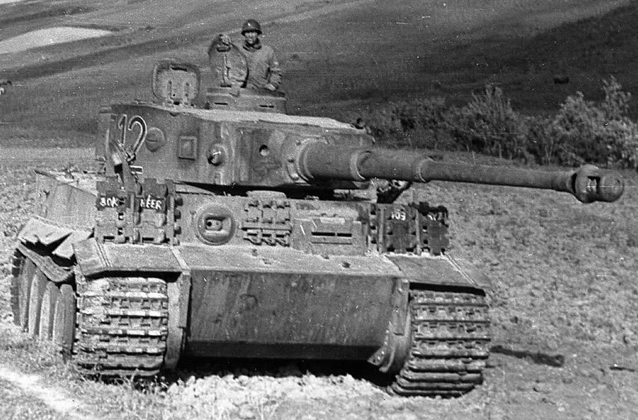 Tiger I in Tunisia