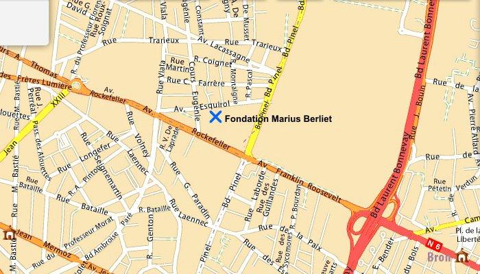 Fondation Marius Berliet map.jpg
