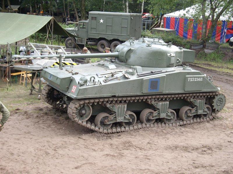 Sherman Firefly tanks