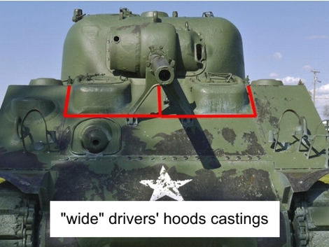 Wide hood construction