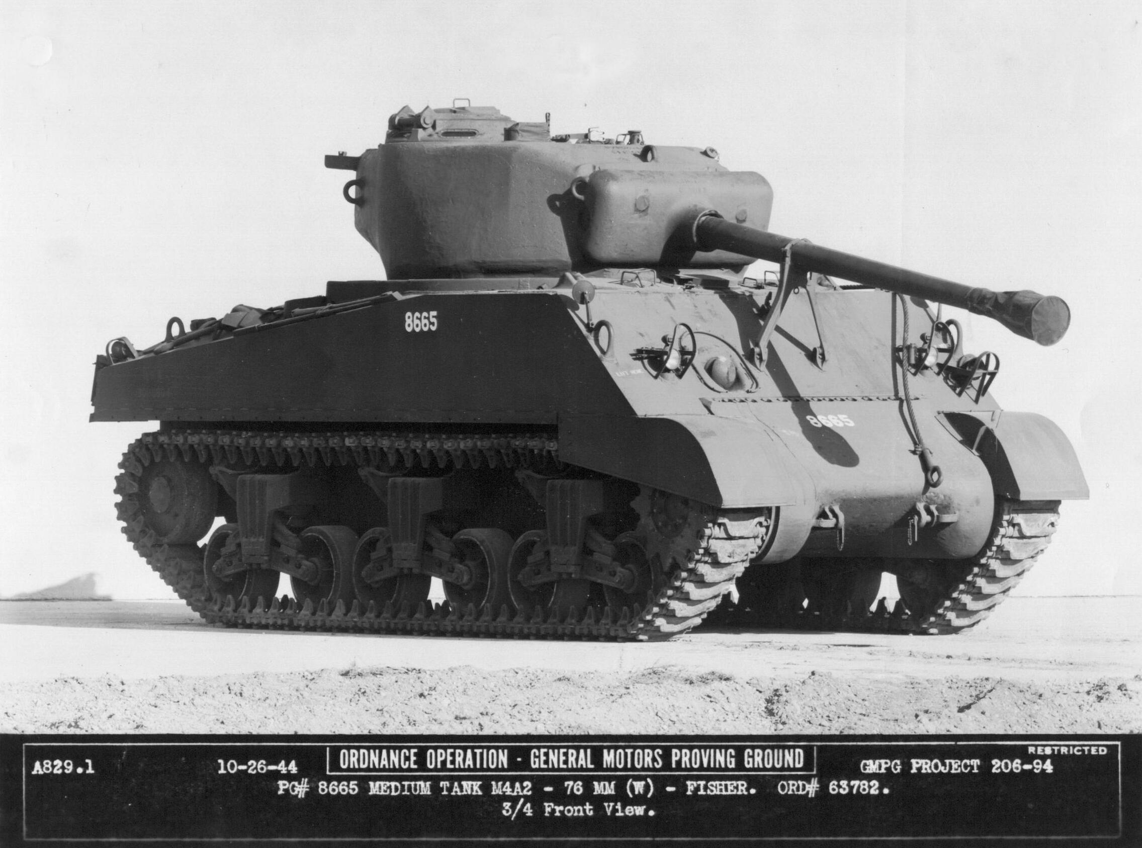 Large Hatch M4a2 Shermans