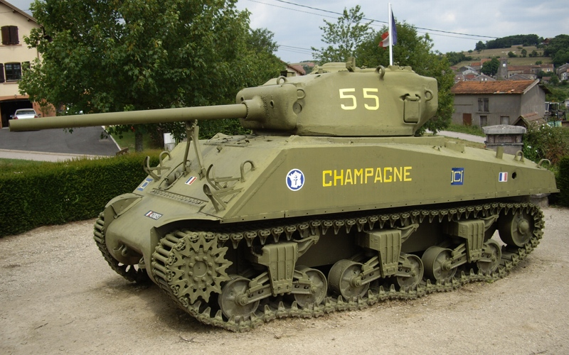 "M4A3 ""Champagne"""
