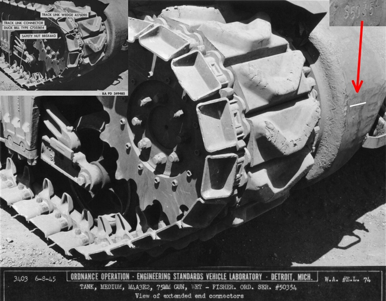 M4A3E2 Fisher serial number