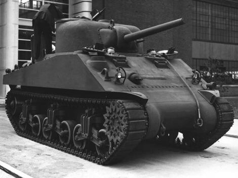 Ford pilot tank
