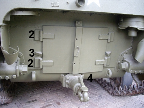 M4 Baldwin rear engine doors