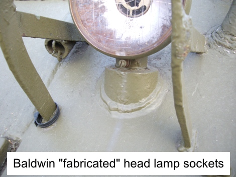 M4 Baldwin head lamp socket