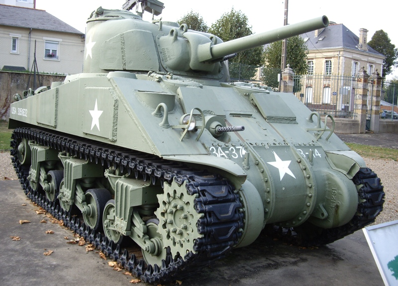 The M4 Sherman Model Is Really An Early Version Of The