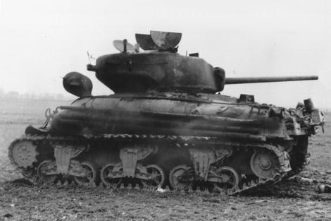 Sherman M4a1 76mm ( italeri, 1/35eme ) Bergerhausen
